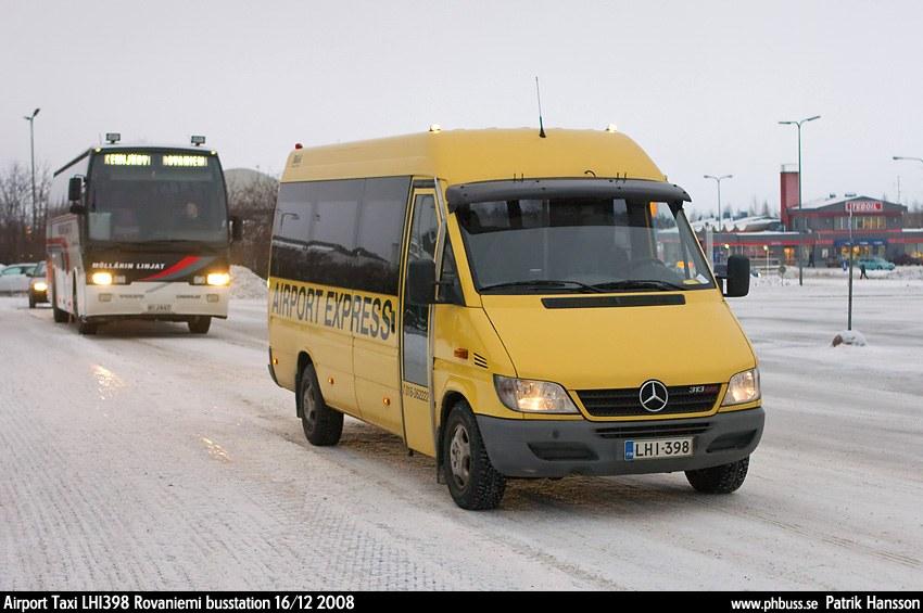 Airport Taxi Rovaniemi, Finland